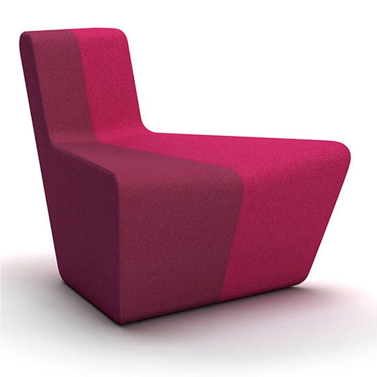 Send the monotony away with this modular designer lounge armchair