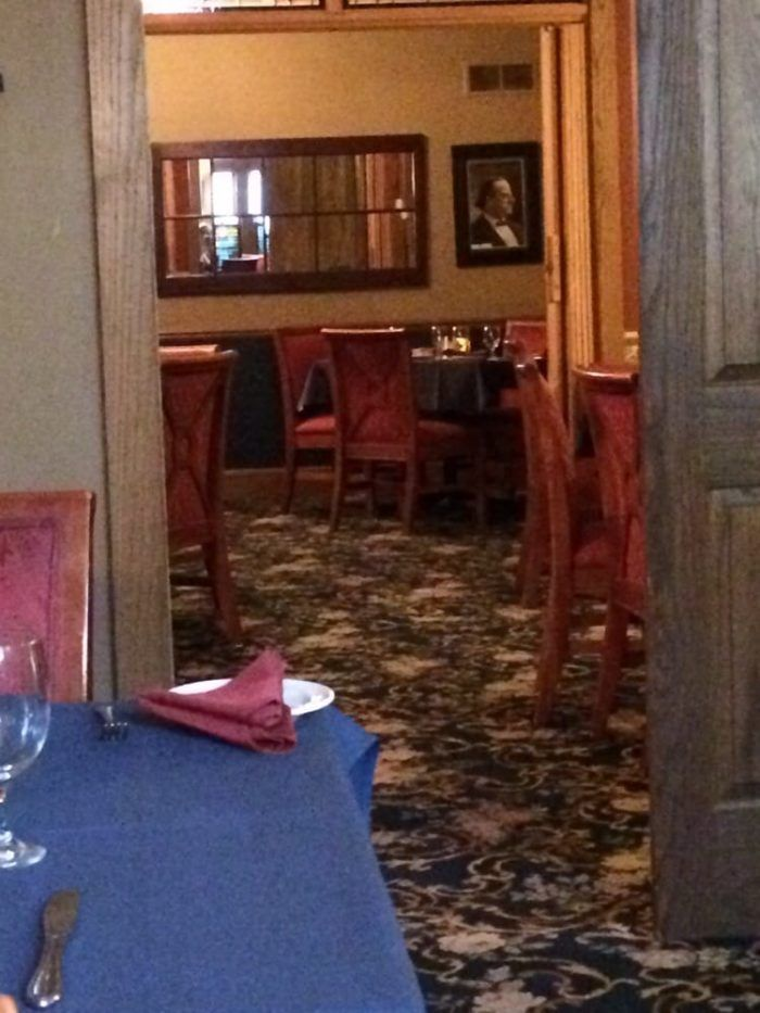 This fine dining establishment is located in one of Lincoln's most beautiful historic homes.