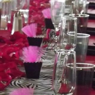 13 best zebra print images on pinterest zebra wedding zebra pink and black zebra wedding decoration junglespirit Gallery