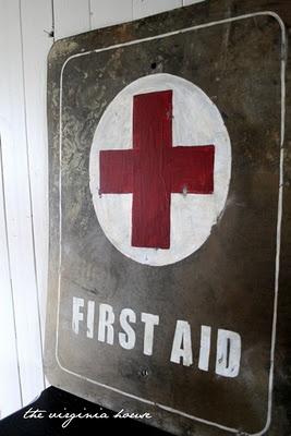 The Virginia House: first aid