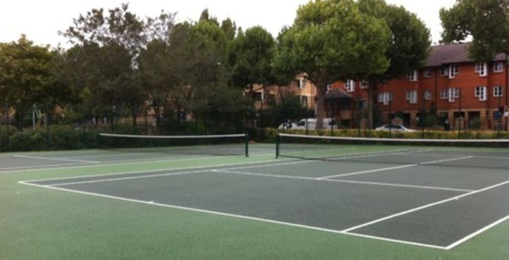 Tennis Courts at Kensington Memorial Park. Available to hire on a per hour basis.