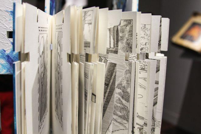 artesano entre artistas 3.0-12 / lililab de Cristina Orozco + Antonio Guerra / internevención de libros.