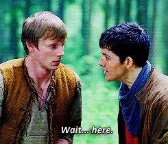 * Bradley James Arthur Pendragon Merlin Season 4 colin morgan merthur merlinedit 4x12