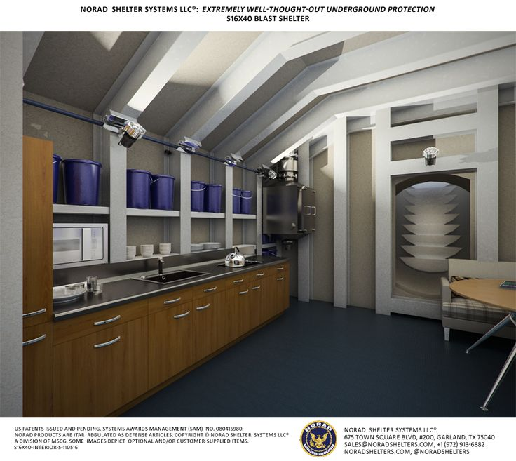 S16x40 Fallout Shelter Interior 5 Fallout Shelter
