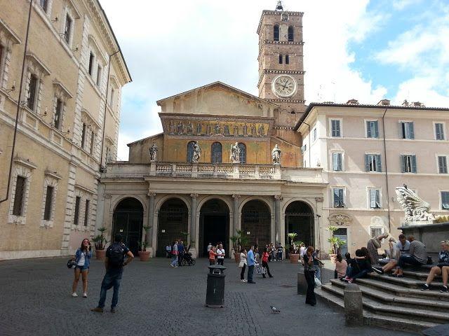Церковь-Санта Мария ин Трастевере.Рим.