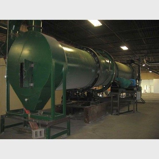 6.5 ft. dia. Rotary dryer supplier worldwide | Used 6.5 ft. x 59 ft. rotary dryers for sale - Savona Equipment