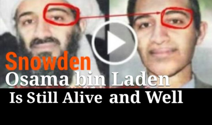 SHOCKING   Former CIA employee, Snowden claims Osama Bin Laden Is ...