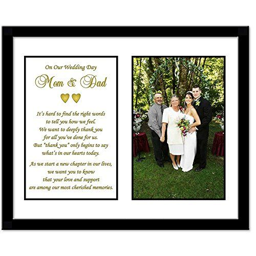 Wedding Gift Thank You Poem : Parent Thank You Wedding Gift - Thank You Poem From Both the Bride and ...