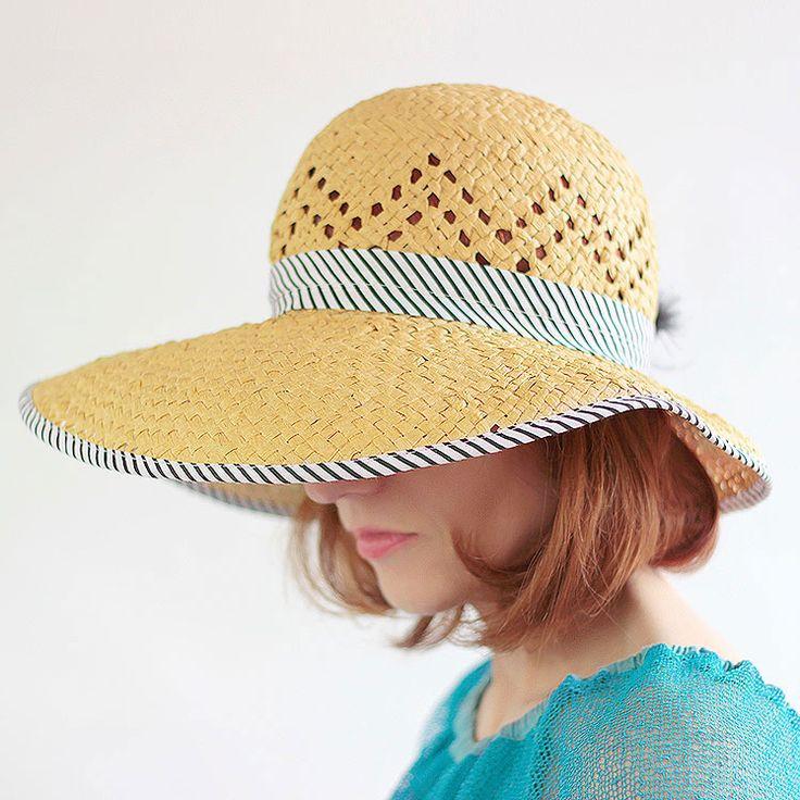 kapelusz słomkowy letni Pinalu