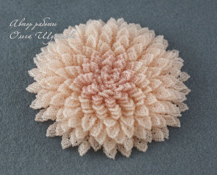 Gallery.ru / Pink Chrysanthemum - Brooches - pautin