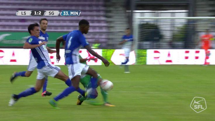 Spielzusammenfassung FC Lausanne-Sport - FC St.Gallen 1879