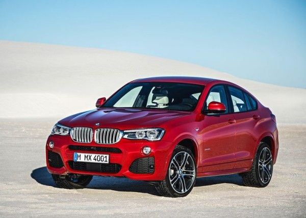 2015 BMW X4 Side Angular 600x428 2015 BMW X4 Full Review, Features with Images