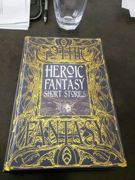 Heroic Fantasy Author Copies and More!