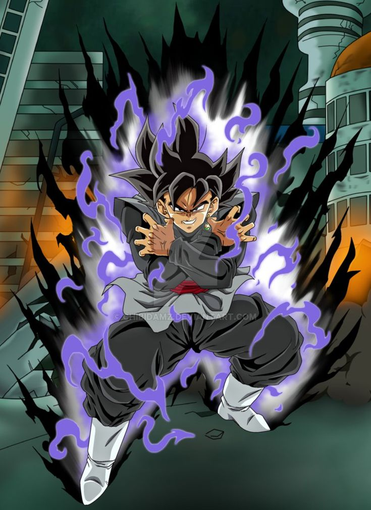 Black Goku by ChibiDamZ.deviantart.com on @DeviantArt ...
