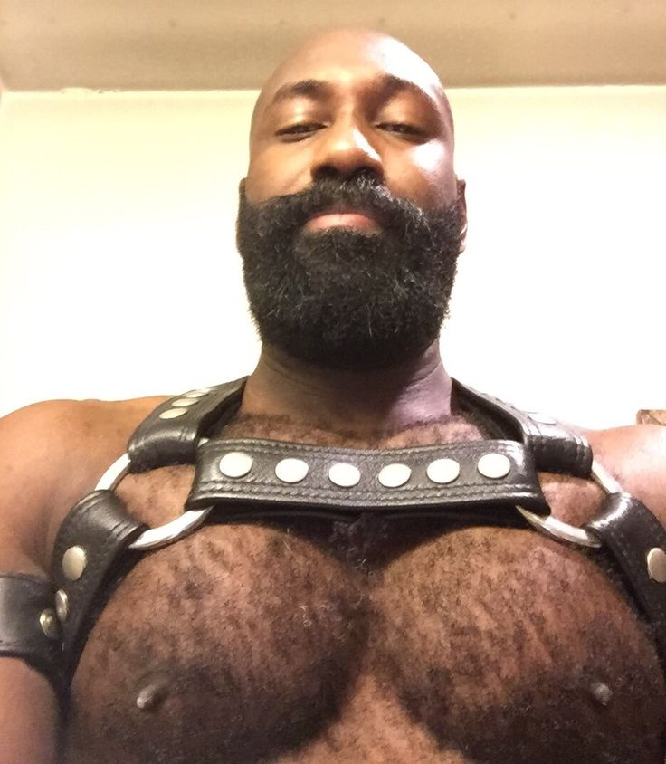 black big men hairy