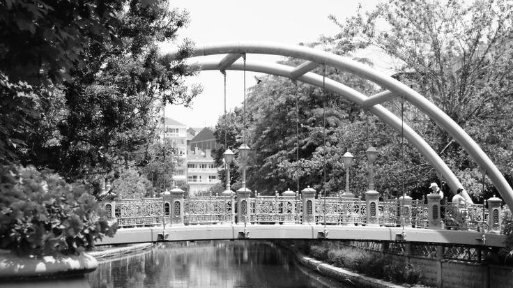 A beautifully intricate bridge in Eskişehir, Turkey