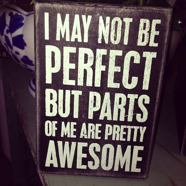 Snooki - I May Not Be Perfect Instagram Quote Pic