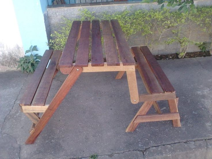 Pallet Folding Bench And Picnic Table Jpg 960 215 720 Pixels