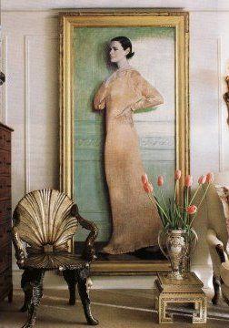 portrait of Gloria Vanderbilt