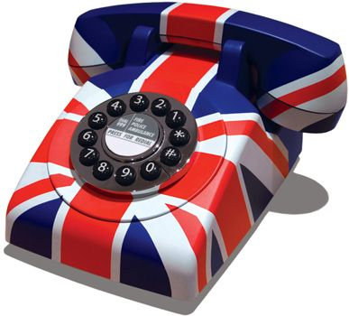 Win a fantastic retro style telephone from the original phone company GPO. In a funky Union Jack. With Push-button dialing for convenience and speed. Solid, weight construction and orks on any standard home telephone.