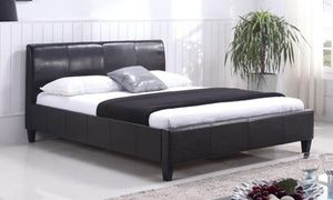 Juliette Faux Leather Bed Base