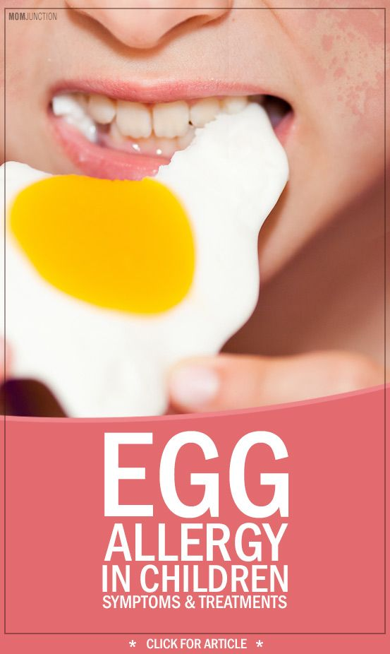 Egg Allergy In Children - Symptoms & Treatments You Should Be Aware Of