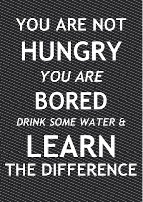 You are not hungry, you are bored..