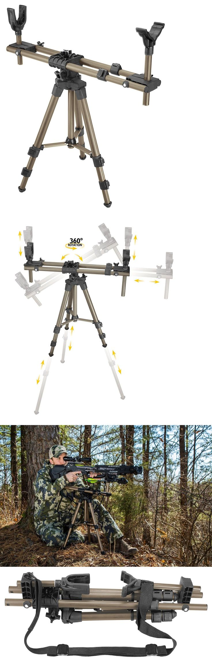 Benches and Rests 177887: Hunting Tripod Shooting Rifle Rest Gear Scope Hunt Game Gun Stand Crossbow Bipod -> BUY IT NOW ONLY: $107.04 on eBay! http://riflescopescenter.com/category/hawke-riflescope-reviews/