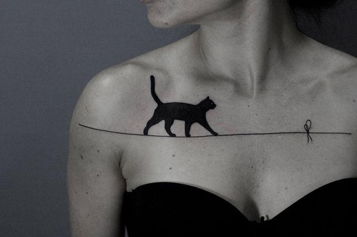 Черная кошка. Автор: Ilya Brezinski.