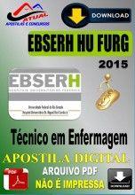 Apostila Digital Concurso Ebserh HU Furg RS Tecnico em Enfermagem 2016