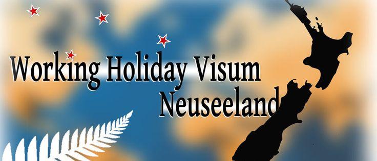 Working Holiday Visum Neuseeland online beantragen
