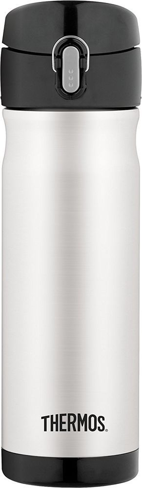 Stainless Steel Thermos 16 Oz Hot Beverages Travel Storage Work Car School NEW  #Nonbranded