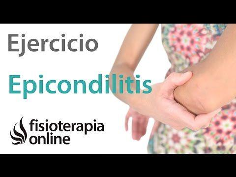 Epicondilitis - Ejercicio de reprogramación o activación de epicondileos. | Fisioterapia Online