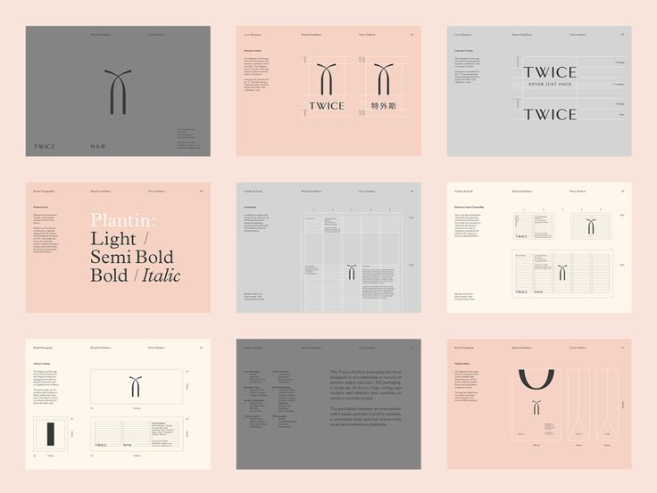 The 64 best images about Brand Style Guides on Pinterest Behance