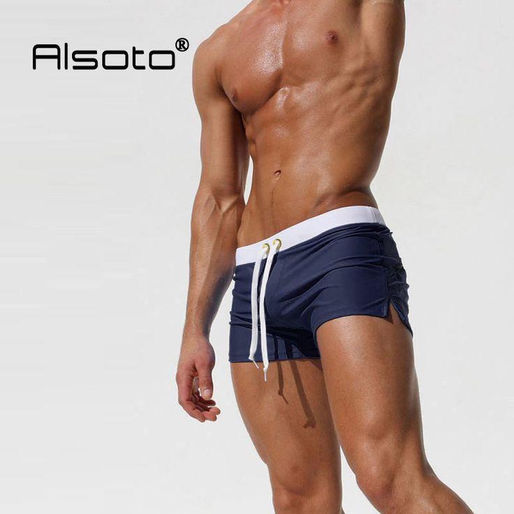 Hot Swimwear Men Breathable Men's Swimsuits Swim Trunks Boxer Briefs Sunga Swim Suits Maillot De Bain Beach Shorts *** Encontrar productos similares haciendo clic en la VISITA botón