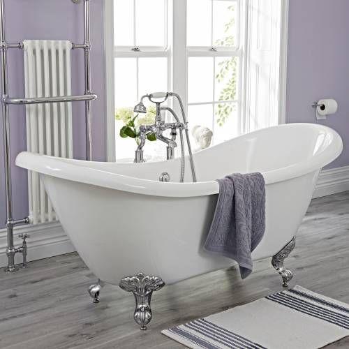 Die besten 25+ Freistehende wanne Ideen auf Pinterest Luxus - freistehende badewanne einrichten modern
