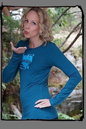 You Will LOVE our new Long Sleeve Bamboo Tee http://squeezed.ca/shop/deep-teal-bamboo-long-sleeve-tee-with-love-heart
