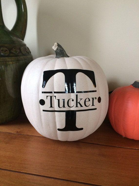 Best 25 Monogram Pumpkin Ideas On Pinterest Fall