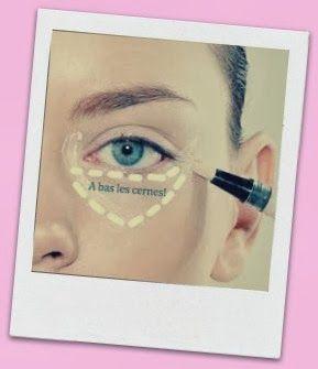 Comment choisir et appliquer son #anti-cerne sans se tromper !?! #maquillage…