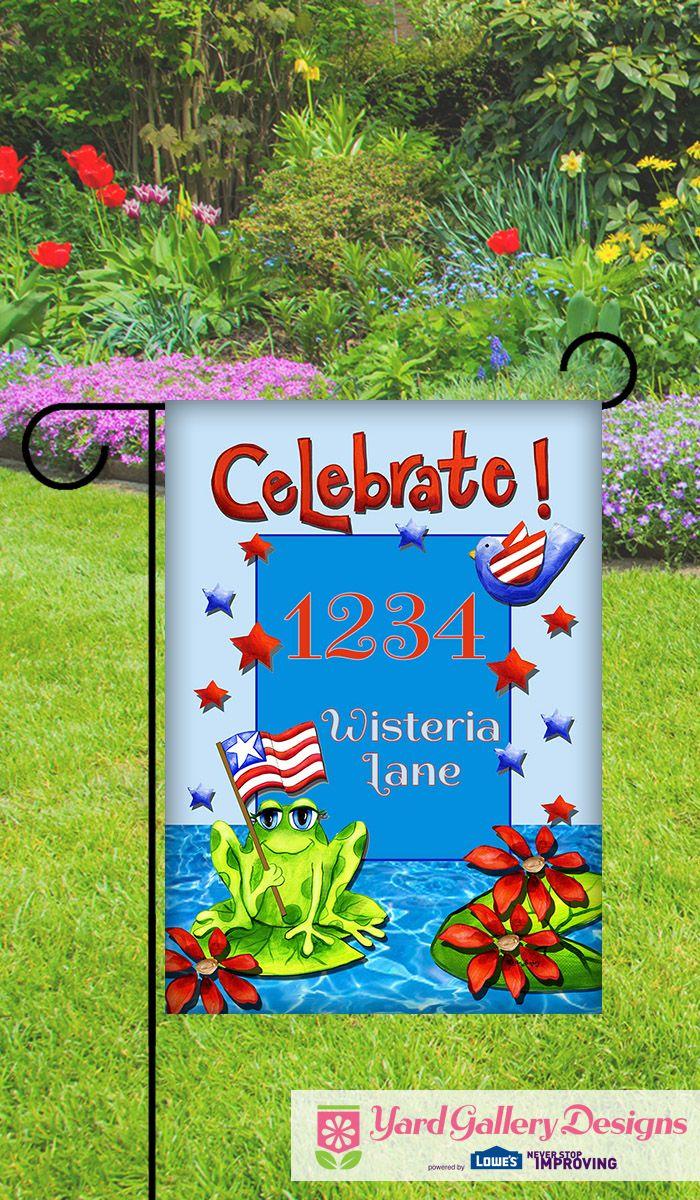 44 best Custom Garden Flags images on Pinterest   Garden flags ...