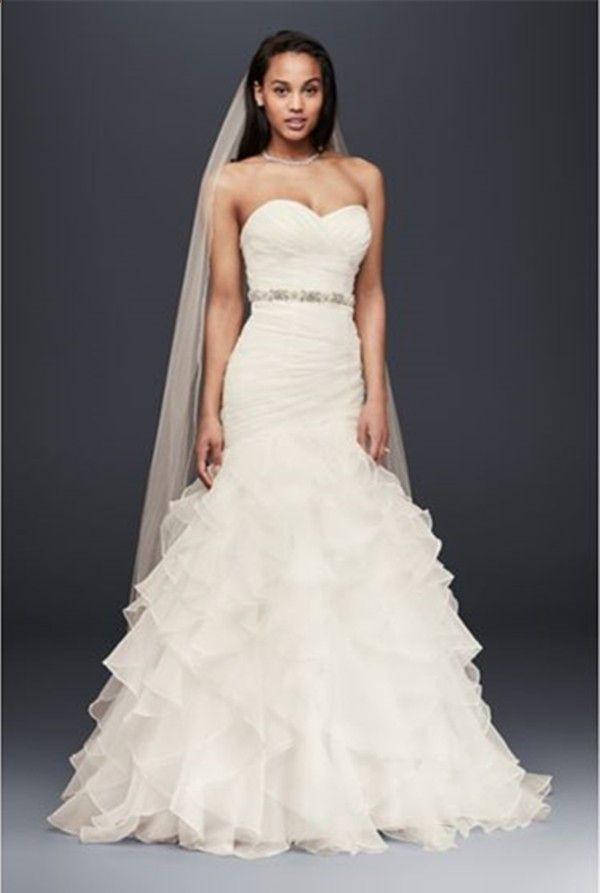 23b3ffb2adf1c 18 Flattering Mermaid Wedding Dresses #perfect