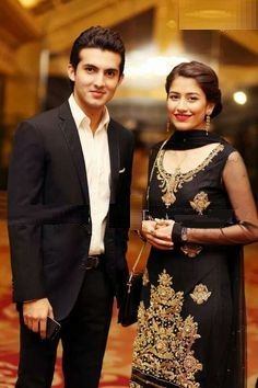 TV actor Sheroz and Syra after their wedding. https://www.facebook.com/Shaadi.org.pk?fref=nf