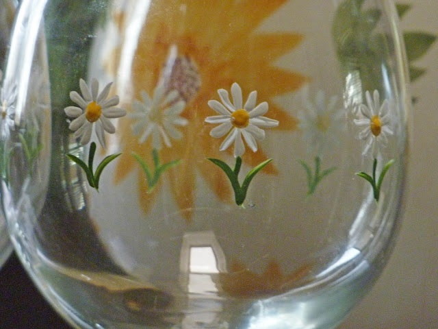 Creating Wonderful Spaces: Painting Glass With Morse Code! using Delta paint kit from Michael's