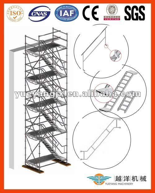 Aluminium Scaffolding Stair System With Smart Design $1~$150
