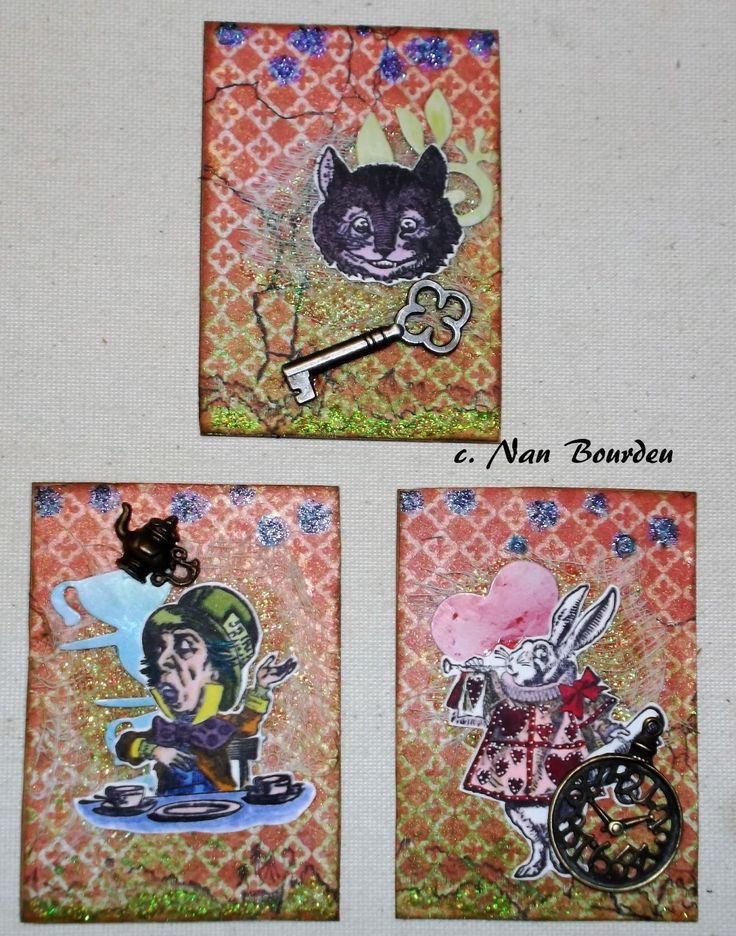 by Nan B./Deep into the Darkness Peering: Alice ATC's