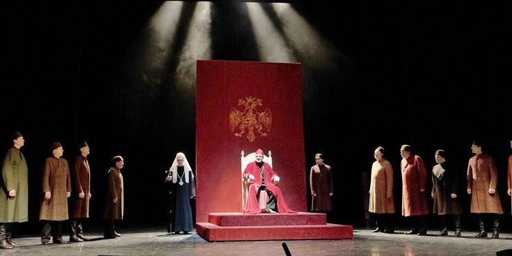 Borís Godunov - Teatro Et Cetera de Moscú. Uno de los mejores directores de teatro del mundo, Peter Stein, una gran compañía rusa y una obra maestra de P...