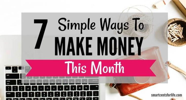 7 Simple Ways To Make Extra Money From Home This Month – Make money