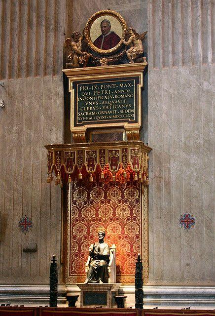 Bronze statue of St. Peter