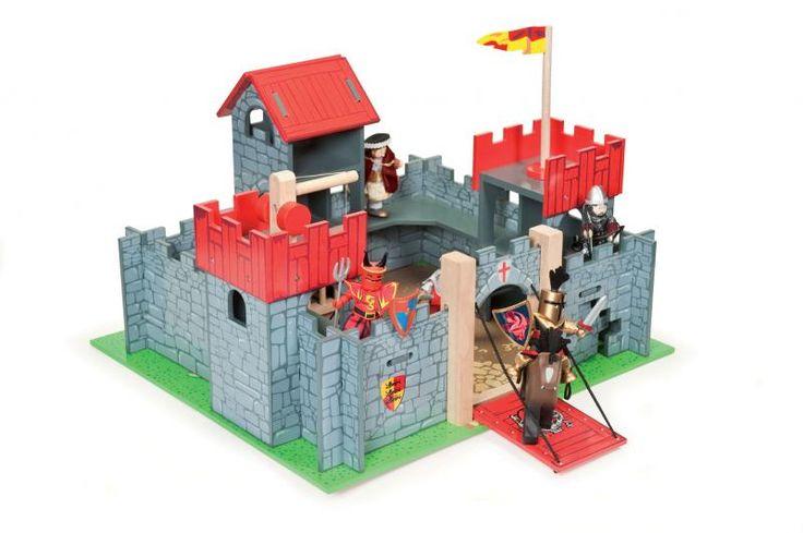 Le Toy Van Wooden Camelot Castle