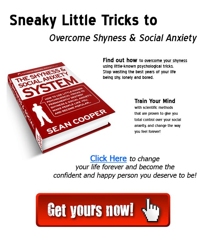 Learn How to Overcome Your Shyness and Social Anxiety with simple tricks and science! You don't have to live with shyness forever, in fact it is much easier to defeat than you realize. We often get so caught up in our own social anxiety that we lose sight of just how natural and easy human interaction should be. And this guide shows you everything you need to become the person you want to be, and more!